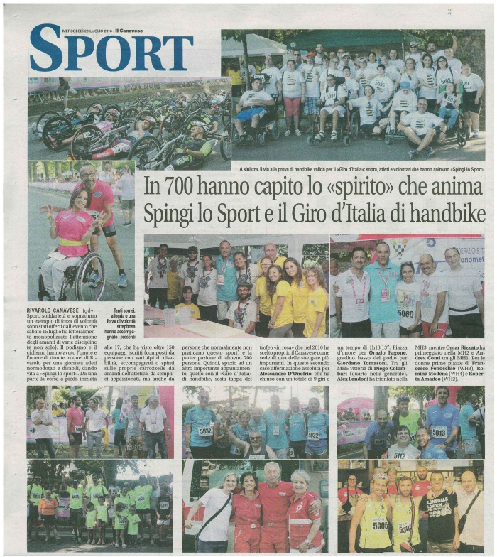 21a 20 07 2016 Il Canavese - resoconto Spingi-Giro-Etiopia (1)